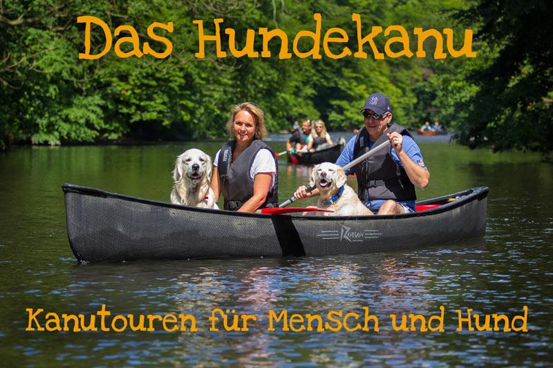 Das Hundekanu - Kanufahrten für Mensch und Hund