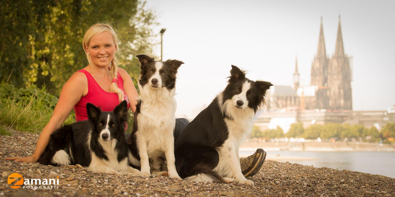 Hundetrainerin Madeleine Zamani