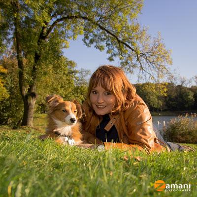 Zamani Fotografie Hundefoto Beispiel